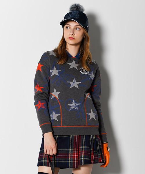 Star Slinger Wind Stopper Crew Knit | WOMEN