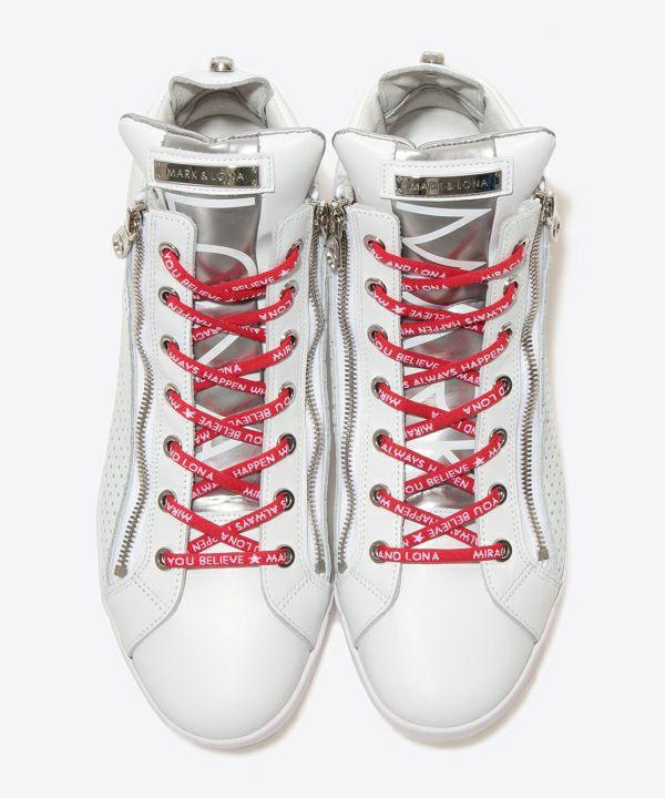 Zip High-cut Sneaker | MEN and WOMEN