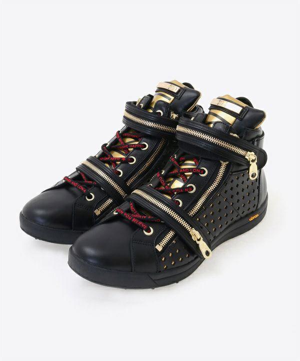 Hi Cut Zip Shoes | MEN