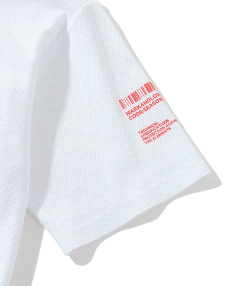 CD25-Smooth Pique Zip Neck Top | MEN