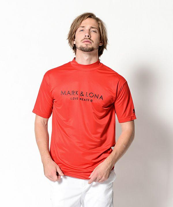 RED(Model:身長182cm,チェスト96cm,ウエスト77cm,着用サイズL)