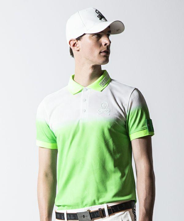 GREEN(Model:身長186cm,チェスト93cm,ウエスト78cm,着用サイズL)