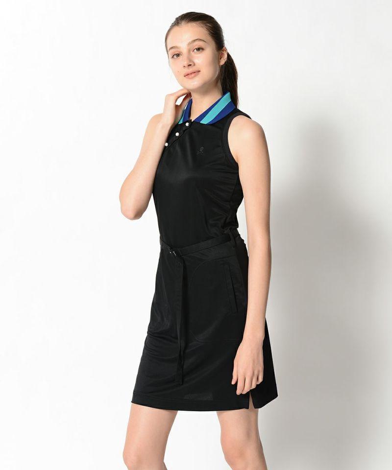 BLACK(Model:身長176cm,バスト84cm,ウエスト61cm,ヒップ89cm,着用サイズM)