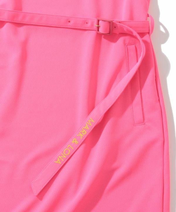 Lucy Sleeveless dress / flamingo | WOMEN
