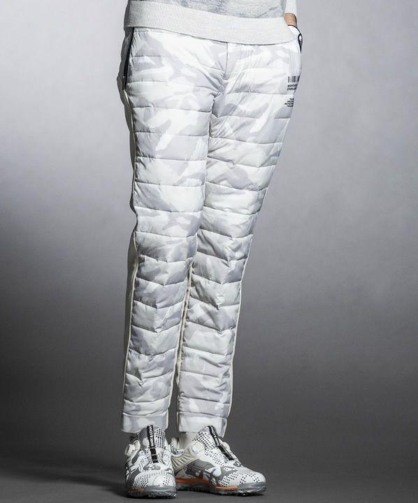 OFF.WHITE(Model:身長186cm,チェスト94cm,ウエスト76cm,着用サイズL)
