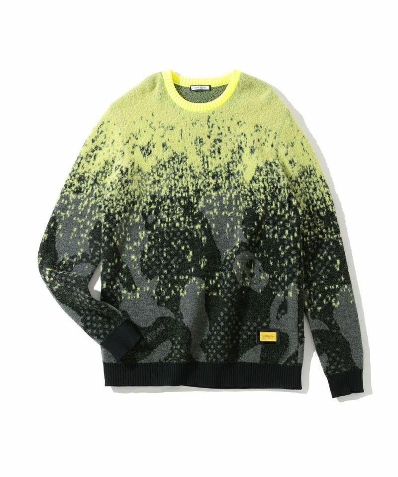 Vector Faded Crew Sweater | MEN