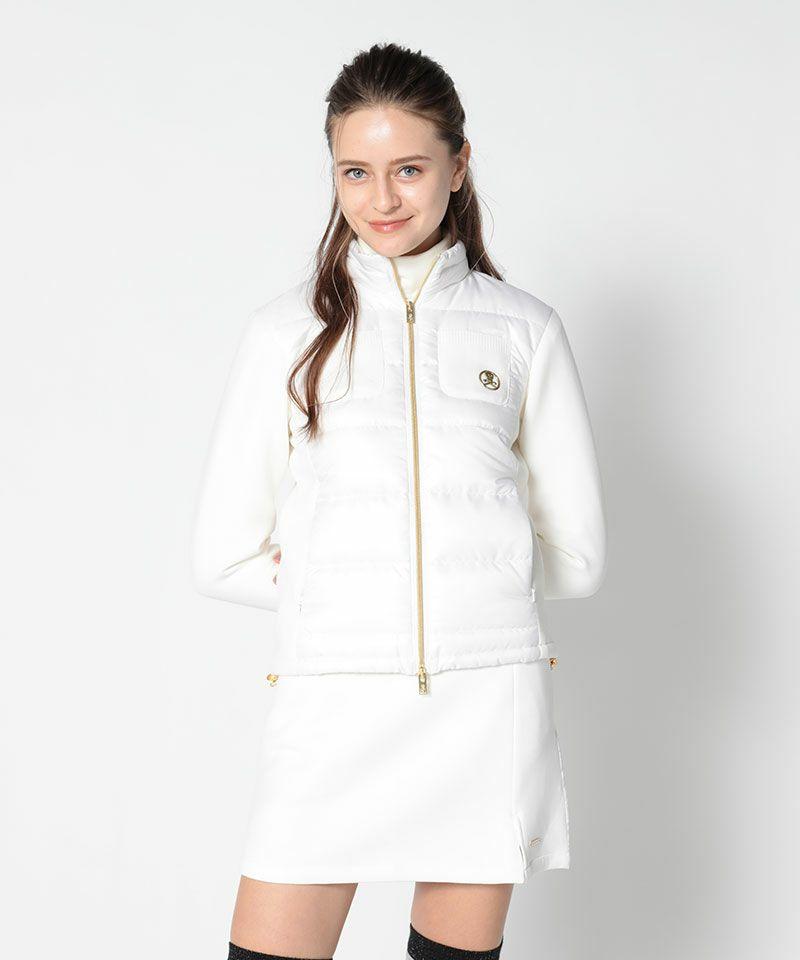 WHITE(Model:身長175cm,バスト83cm,ウエスト59cm,ヒップ86cm,着用サイズM)