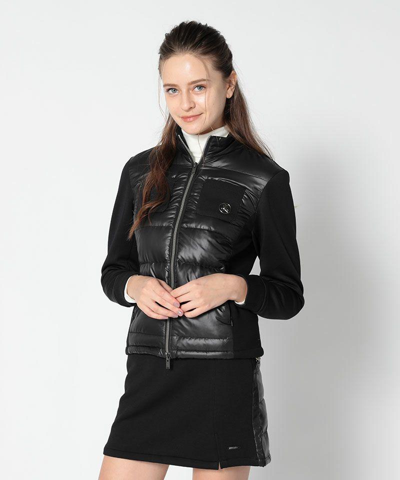BLACK(Model:身長175cm,バスト83cm,ウエスト59cm,ヒップ86cm,着用サイズM)