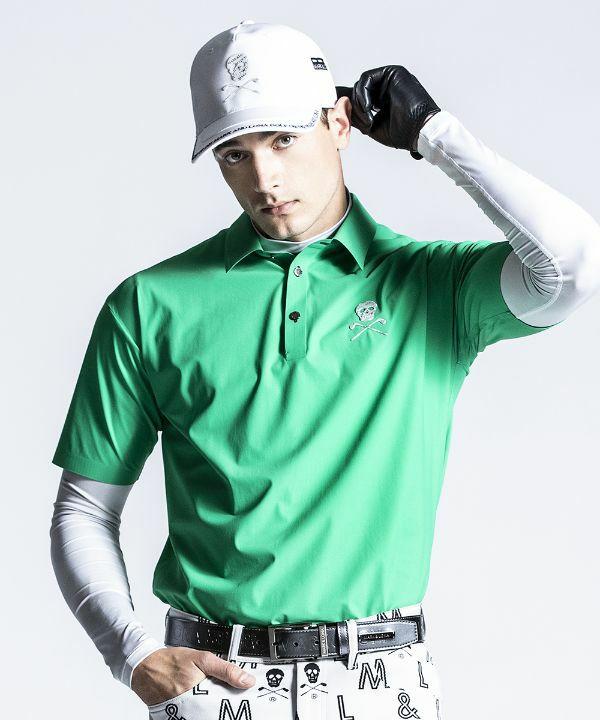 GREEN(Model:身長186cm,チェスト94cm,ウエスト76cm,着用サイズL)